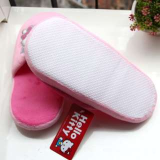 HelloKitty Indoor Plush Slippers Babouches Pantofles Pink