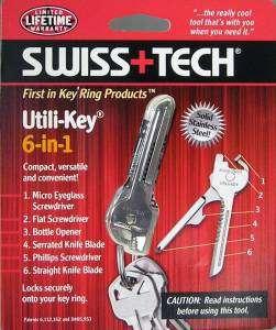 Swiss Tech UTILIKEY Multi Tool Pocket Knife Key ring