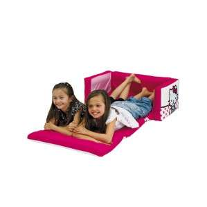 Hello Kitty Tween Flip Out Sofa Inflatable   Childrens Bedroom Chair