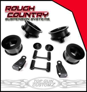 07 10 Jeep Wrangler JK Coil Spacer Lift Kit   Basic