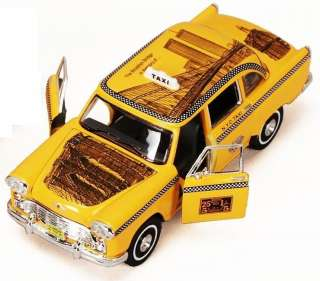 Superior   1963 Checker Taxi Cab The Twin Towers