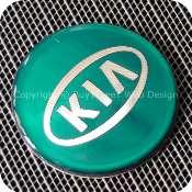 2921begnb1f1 kia 56mm 5.6cm blue green silver center wheel hub cap