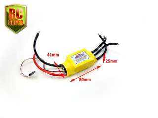 Mystery 200A Brushless Motor Speed Controller ESC RC