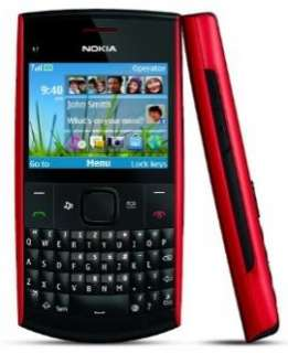 NEW Nokia X2 01 Unlocked GSM AT&T T Mobile Cell Phone US Version Red