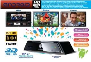 Scientific AMEX Digital MP G7 Media Gate Google ANDROID Media Player