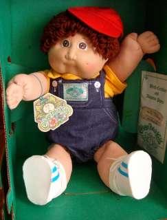 VINTAGE 1984 CABBAGE PATCH Kids DOLL in BOX Original Baby BOY Buck