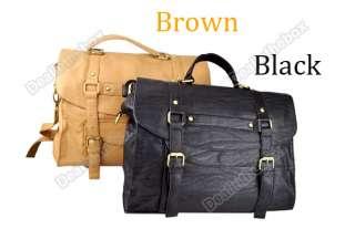 Womens PU Leather Purse Handbag Messenger Satchel Shoulder Bag |