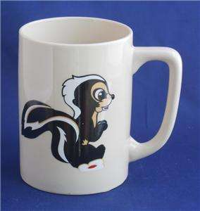 Marco Polo Flower Skunk From Bambi Coffee Cup Mug