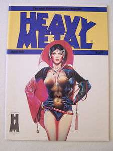 HEAVY METAL April 1983 4/83 Milo MANARA Guido CREPAX Jeff JONES Enki