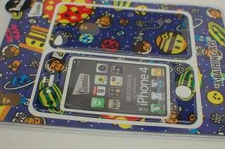 Bathing Ape x Gizmobies Space Milo iPhone 4 3M Skin