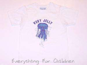 Boys KELLYS KIDS shirt 7 8 NEW t jelly fish boutique