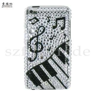 Diamond Crystal Rhinestone Case Cover For iPod Touch 4 4G 4th