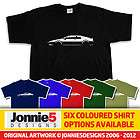 LOTUS ESPRIT TURBO JAMES BOND INSPIRED T SHIRT   CHOOSE FROM 6 COLOURS