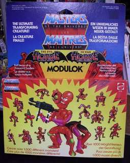 He Man Masters of the Universe Vintage Modulok boxed