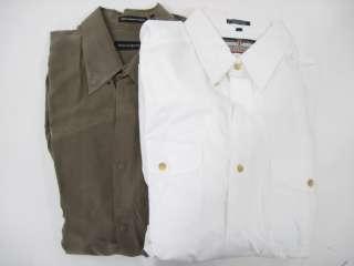 LOT 2 JHANE BARNES MENS Button Down Shirts Sz L