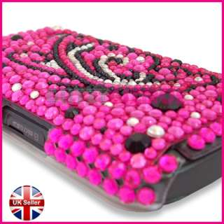 DIAMOND BLING GLITTER CRYSTAL GEM CASE COVER FOR SAMSUNG GALAXY GIO