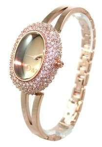 DW0278 Dolce & Gabbana Ladies Rose Gold Watch