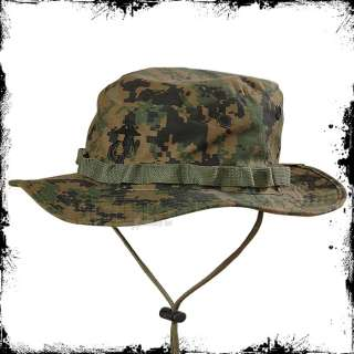 HELIKON USMC US MARINES BOONIE HAT CAP DIGITAL WOODLAND