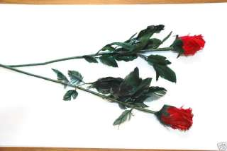 RED FEATHER ROSES   SUPERB WEDDING DECORATIONS