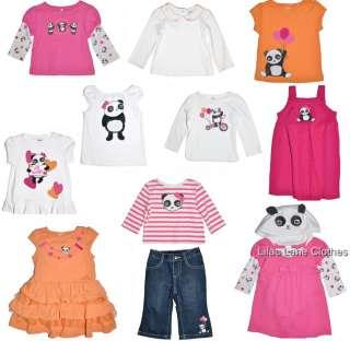 Academy Shirt Jeans Dress Orange Pink U PIK NWT 3 24 m 2T 5T