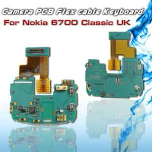 Camera PCB Flex cable Keyboard For Nokia 6700 Classic