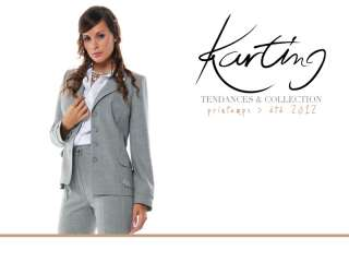 Pantalon Jean Femme taille haute KARTING T. 42 44 46 48 50