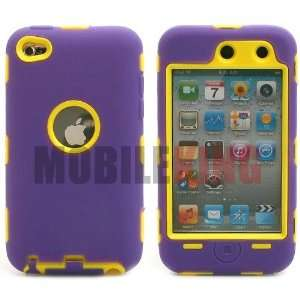 (MOBILE KING) Dual Ultra Rugged Protector Case Purple