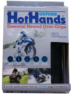 OXFORD MOTORCYCLE MOTORBIKE HEATED HOT GRIPS SPORTS