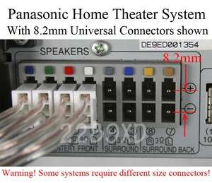 panasonic home theater Universal Speaker cable 80ft