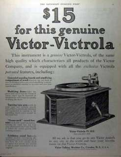 is an original print advertising for Victor Talking Machine