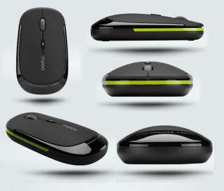 New 2.4G Rapoo 3500 Ultra Slim USB Wireless Laser Mouse