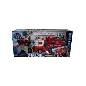 True Heroes Fire Rescue Emergency Playset Toys & Games