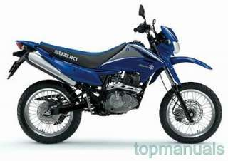 MANUAL TALLER SUZUKI DR 125 SM WORKSHOP DR125 DR125SM