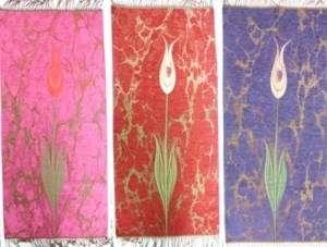 NEU*Gebetsteppich mit Tulpen Desing Lale Desenli Namaz