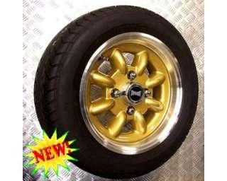 Mini rover 4 cerchi lega 5x12 + 4 gomme a Torino    Annunci