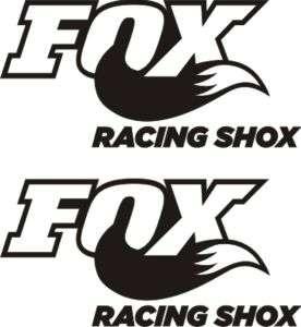 PEGATINAS/STICKERS/ COCHE MOTO TUNING FOX REF.2