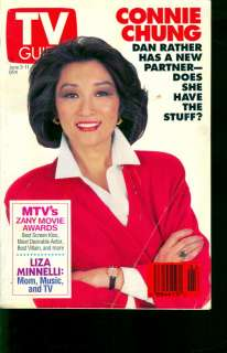 1993 TV Guide: Connie Chung News Anchor  Dan Rather s5d6f7g