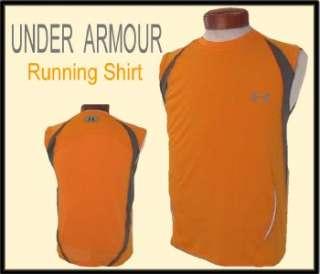 Mens UNDER ARMOUR Heatgear RUNNING Training SHIRT S