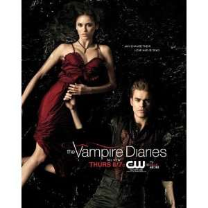 The Vampire Diaries (TV) (2009) 27 x 40 TV Poster Style P