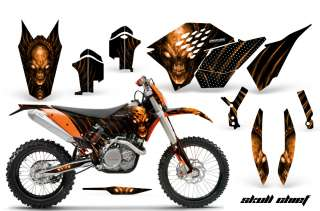 KTM EXC 07 08 09 11 GRAPHICS KIT DECALS SCOOB