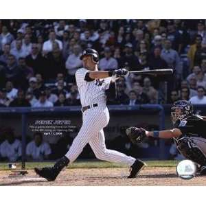 Derek Jeter 06   Yankee Stadium Opening Day / Game Winning H.R