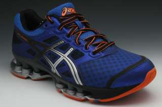 Asics Gel Rebel Mens Sneakers in Electric Royal/Blk/Safety Orange