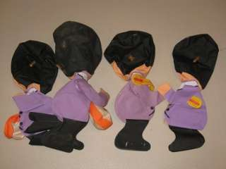 The Beatles Vintage Inflatable Blow Up Dolls (4) 1966 $200.00 for set