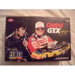 Castrol Gtx John Force Elvis Presley Model Car Toys