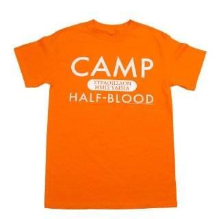 Percy Jackson: The Lightning Thief Camp Half blood Orange