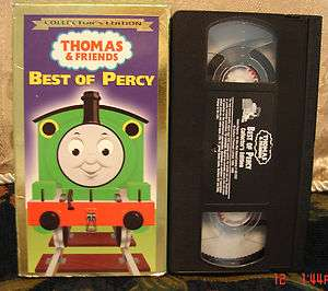 Thomas and Friends The Best of Percy Train Tank VHS VGC VIDEO RARE