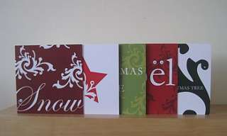 special christmas card box set by jessica gully design
