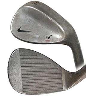 NIKE FORGED UNCHROMED 56* SAND WEDGE RED UNDERLINE