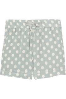 Paul & Joe Sister Gomette polka dot silk crepe shorts   55% Off Now at