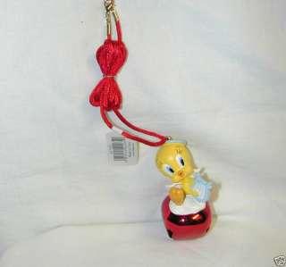 CHRISTMAS TWEETY BIRD ANGEL JINGLE BUDDIE PENDANT NEW